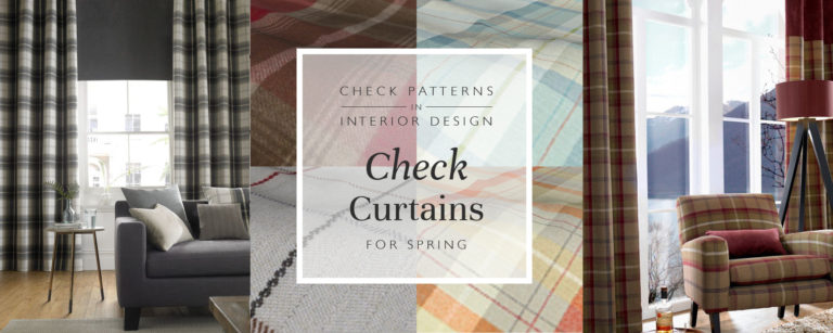 Check Patterns In Interior Design: Check Curtains For Spring thumbnail