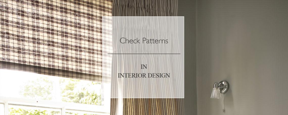 Check Patterns In Interior Design
