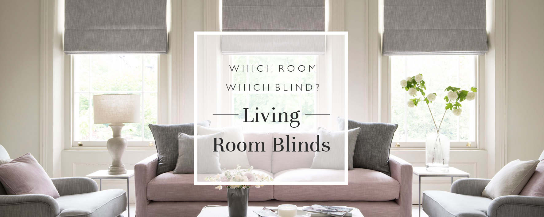 Which Room, Which Blind? Living Room Blinds
