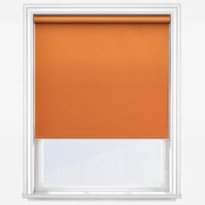 Orange roller blind