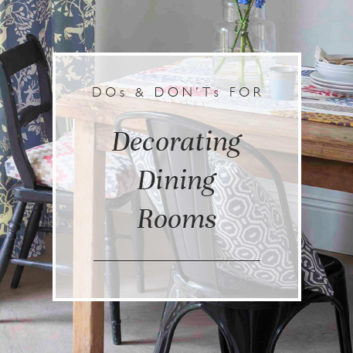 Dos & Don'ts For Decorating Your Dining Room thumbnail