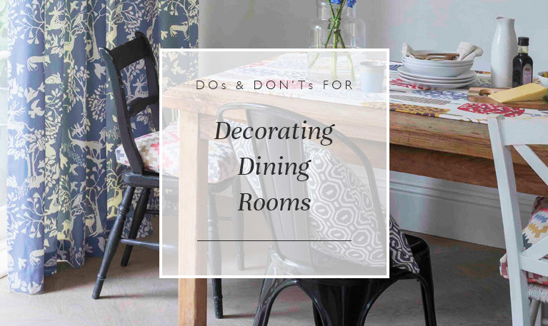 Dos Don Ts For Decorating Dining Room Blinds Direct Blog