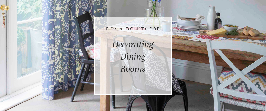 Dos Don'ts For Decorating Dining Room Blinds Direct Blog Enchanting Decorating Your Dining Room