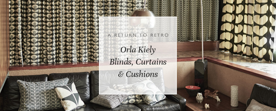A Return To Retro: Orla Kiely Blinds, Curtains & Cushions