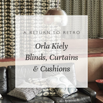A Return To Retro: Orla Kiely Blinds, Curtains & Cushions thumbnail