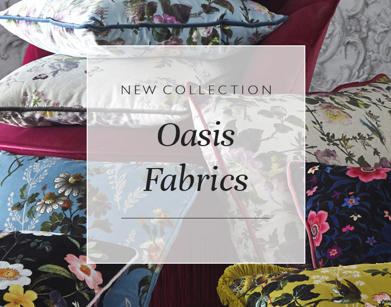 New Collection: Oasis Fabrics