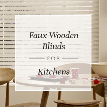 Faux Wooden Blinds For Kitchens thumbnail