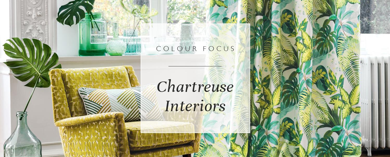 Colour Focus: Chartreuse Interiors