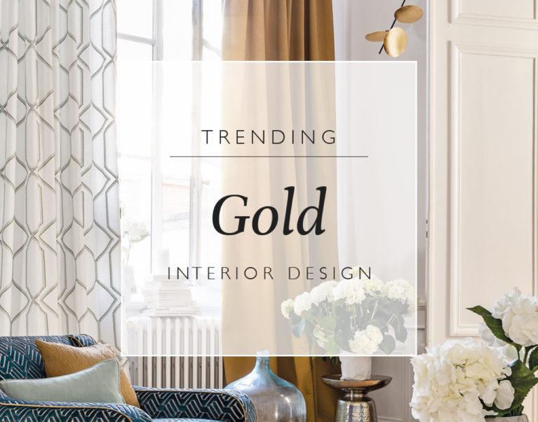 Trending: Gold Interior Design