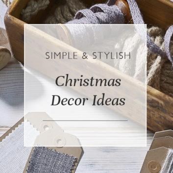 Simple & Stylish Christmas Decor Ideas thumbnail