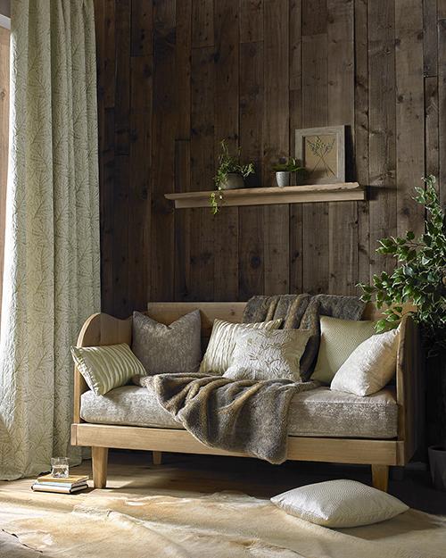 Rustic decor reading corner