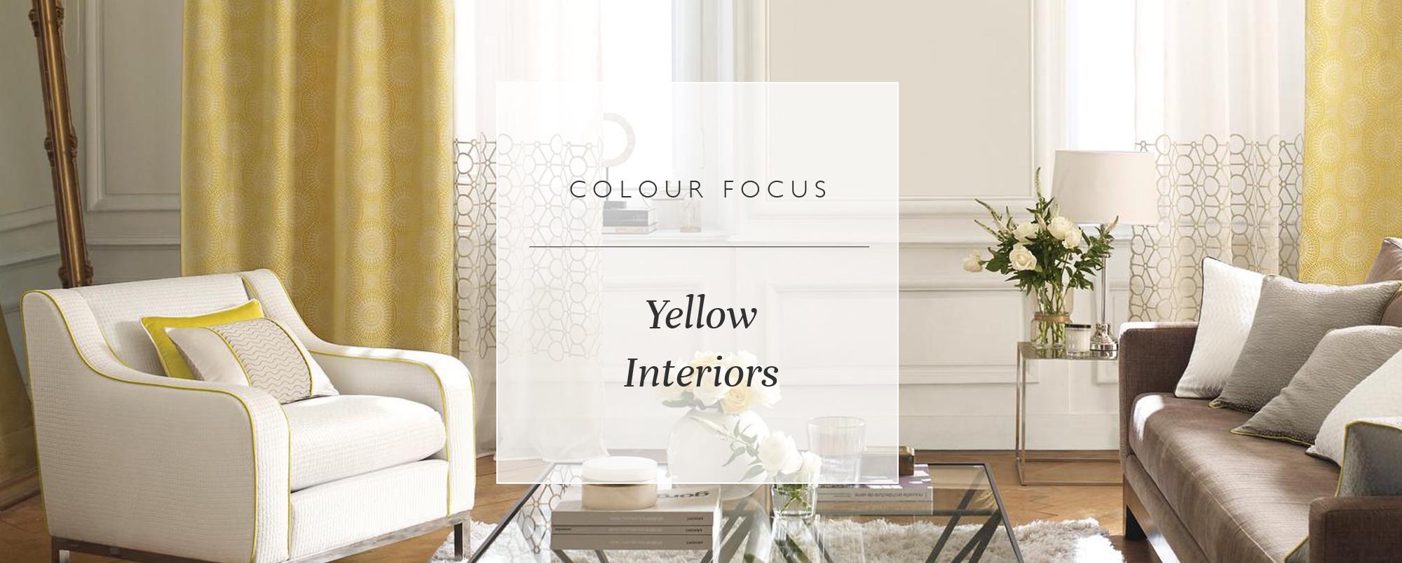 Colour Focus: Yellow Interiors
