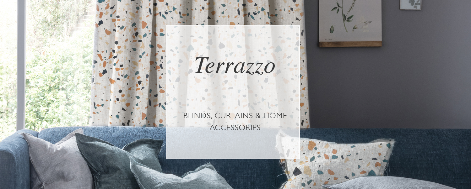 Terrazzo Blinds, Curtains and Home Accessories