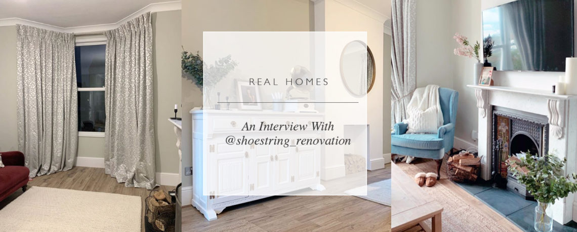 Real Homes: An Interview With @shoestring_renovation