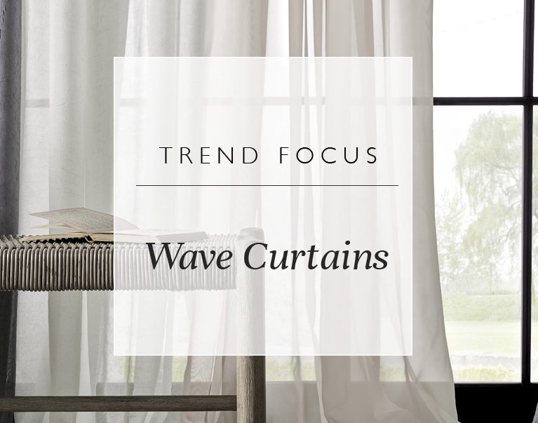 Trend Focus: Wave Curtains