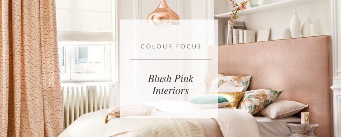 Colour Focus: Blush Pink Interiors