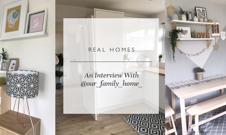 Real Homes: An Interview With @our_family_home_