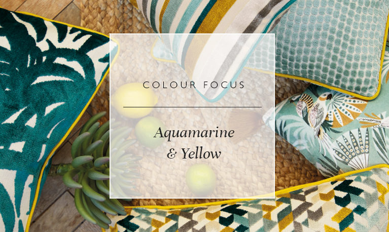 Colour Focus: Aquamarine and Yellow