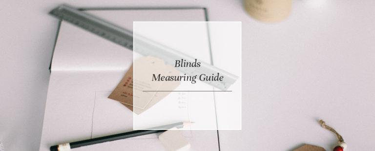 Blinds Measuring Guide thumbnail