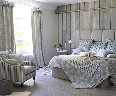 Coastal inspired bedroom
