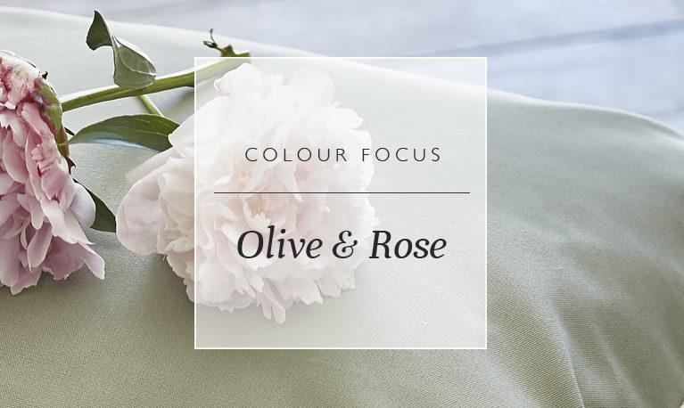 Colour Focus: Olive & Rose