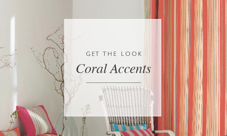 Get the Look: Coral Accents