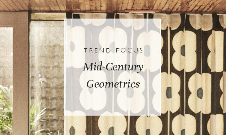 Trend Focus: Mid-Century Geometrics