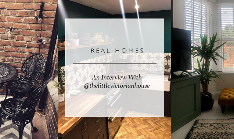 Real Homes: An Interview With @thelittlevictorianhouse