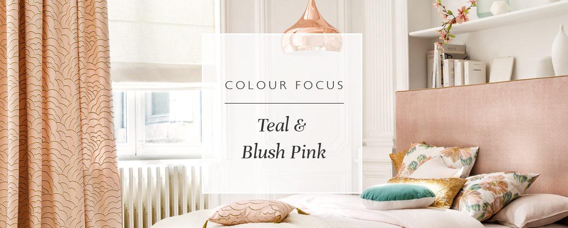 Colour Focus: Teal & Blush Pink