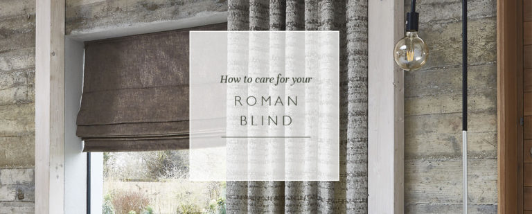 How to care for your Roman blind thumbnail