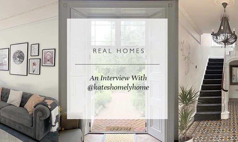 Real Homes: An Interview With @kateshomelyhome